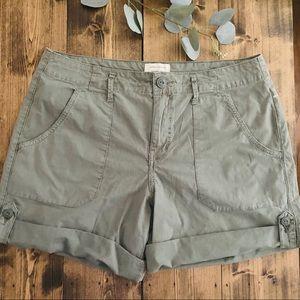 Sanctuary Shorts - SANCTUARY Standard Surplus Army Green Shorts